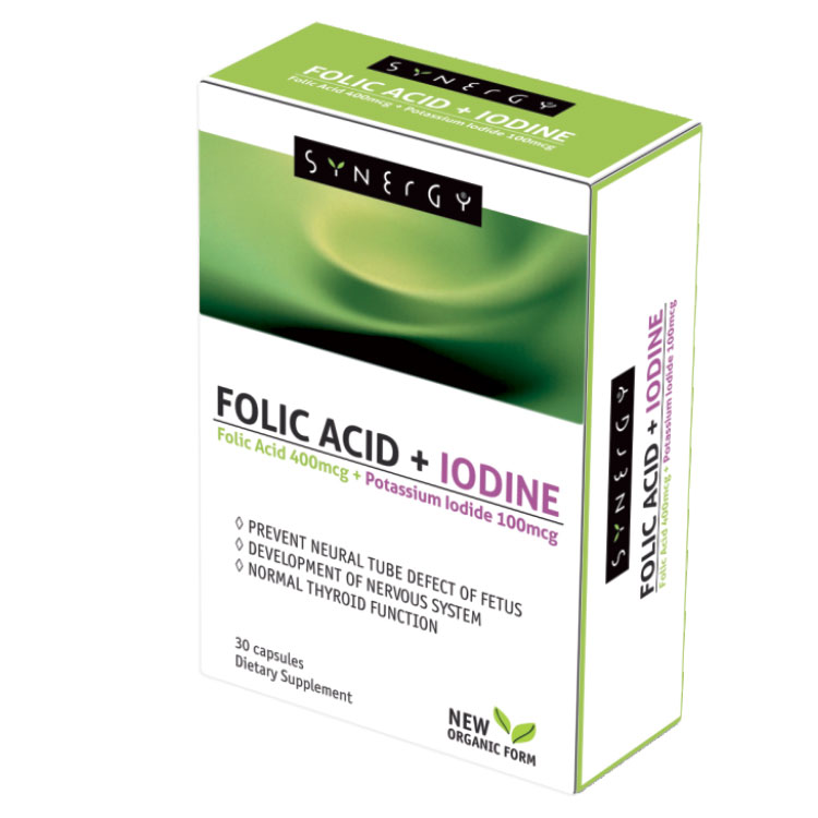 FOLIC ACID + IODINE